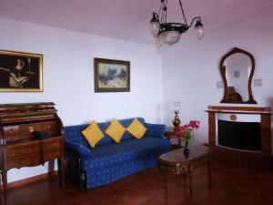 Χώρος καθιστικού στο Milia Bay Hotel Apartments