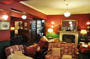 A seating area at Atholl Arms