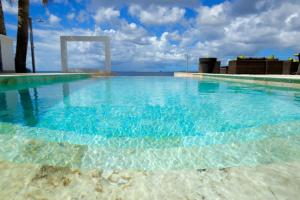 The swimming pool at or near Thebonairian
