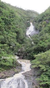 Natural landscape near the resort village
