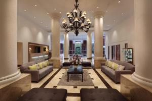 The lobby or reception area at Aryaduta Lippo Village