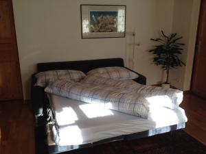 Кровать или кровати в номере Locherboden