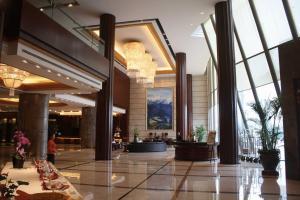 Lobby/Rezeption in der Unterkunft Harriway Garden Hotel