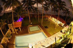 A view of the pool at Blue Beach Hotel or nearby