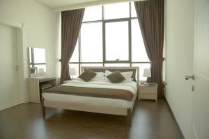 Cama ou camas em um quarto em Rafa Homes