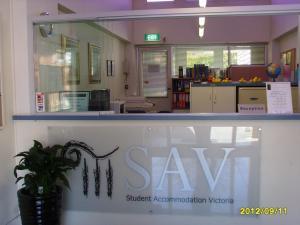 The lobby or reception area at Sav