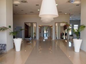 The lobby or reception area at Apartamentos Europa House Sun Beach