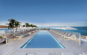 The swimming pool at or close to 1 Hotel South Beach