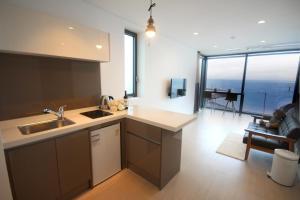 A kitchen or kitchenette at Vista Resort Jeju