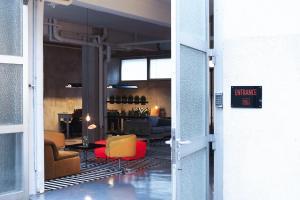 Salon ou bar de l'établissement Wallyard Concept Berlin