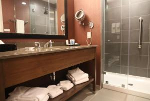 A bathroom at DoubleTree by Hilton Charleston Mount Pleasant