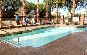 The swimming pool at or near DoubleTree by Hilton Charleston Mount Pleasant