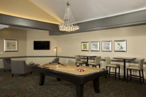 A pool table at Homewood Suites by Hilton Alexandria