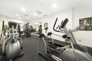 The fitness center and/or fitness facilities at Astra Apartments Sydney - Kent Street