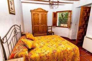 Cama o camas de una habitación en Casa Rural La Herradura del Júcar