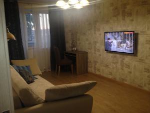 Телевизор и/или развлекательный центр в Apartments on Gogolya