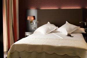 Cama o camas de una habitación en Hotel Boutique Gareus