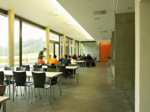 A restaurant or other place to eat at Youth Hostel Echternach