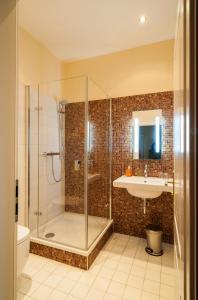 Ein Badezimmer in der Unterkunft Quartier Rautenstock GbR