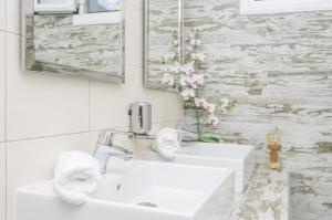 Salle de bains dans l'établissement Paradise Resort