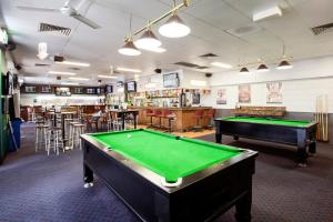 A pool table at Upper Ross Hotel