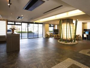 The lobby or reception area at Kyoto Ryokan Hirashin
