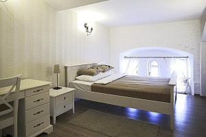 """Кровать или кровати в номере Гостиница """"Бонотель"""""""