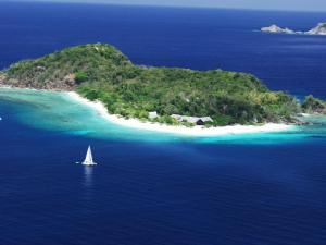 A bird's-eye view of Club Paradise Resort Palawan