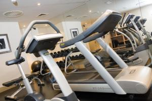 The fitness center and/or fitness facilities at Malmaison Aberdeen
