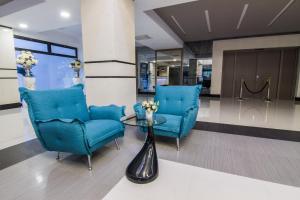 The lobby or reception area at Gardenia Hotel & Spa