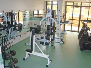 The fitness center and/or fitness facilities at Blue Tree Towers Saint Michel
