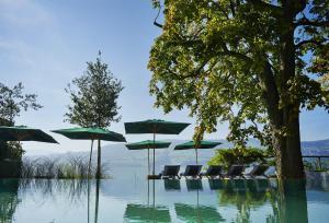 Der Swimmingpool an oder in der Nähe von Seerose Resort & Spa
