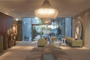 Lobby/Rezeption in der Unterkunft Seerose Resort & Spa