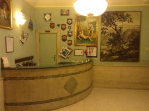 The lobby or reception area at Villa Artemis