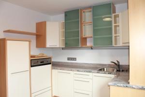 Küche/Küchenzeile in der Unterkunft Starapartments