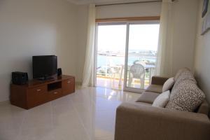 A seating area at Apartamento Arade Portimao