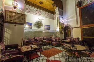 Lobby/Rezeption in der Unterkunft Riad Meski