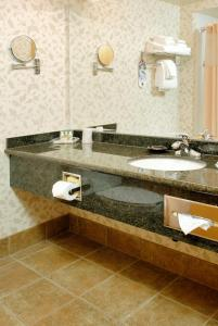 A bathroom at Holiday Inn North Vancouver, an IHG Hotel