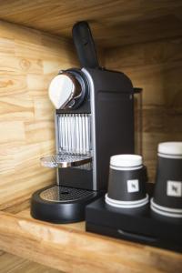 Kaffee-/Teezubehör in der Unterkunft Strandhotel Westduin