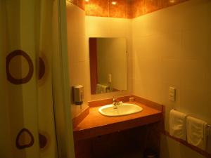 A bathroom at Sidi Harazem