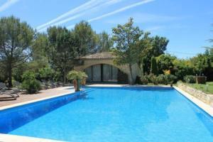 The swimming pool at or near Gites de l olivier au Mas au Coeur de la Provence &SPA