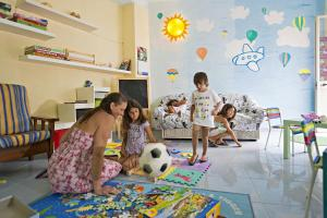 Children staying at Hotel Terme Villa Teresa