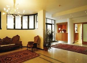 Hall o reception di Hotel La Cascata