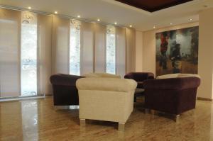 Zona de estar de Hotel Venecia