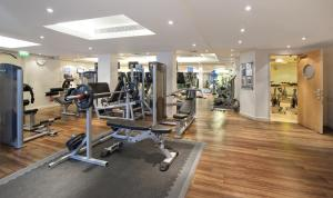 The fitness center and/or fitness facilities at K West Hotel & Spa