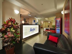 Hall o reception di EA Hotel Julis