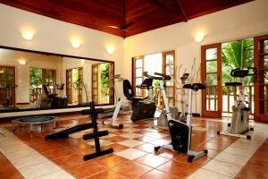 The fitness center and/or fitness facilities at Villas De Paraty