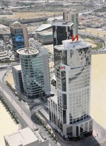 منظر فندق سويس-بل هوتيل سيف البحرين من الأعلى