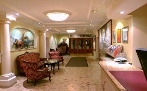 The lobby or reception area at Hotel Turnerwirt