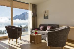 Posezení v ubytování Alpengasthof Filzstein